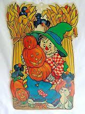 vintage halloween window clings ebay