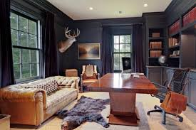 home office 33 stylish and dramatic masculine home office design ideas digsdigs