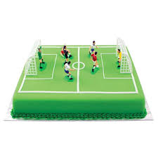 football cake toppers pme football cake topper set 9 from ocado