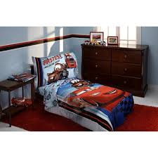 Disney Cars Bedroom Set by Disney Fastest Team 4 Piece Cars Toddler Bedding Set U0026 Reviews