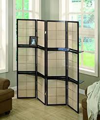 Room Divider Screens Amazon - amazon com 4 panel shoji folding screen room dividers with