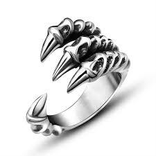 men rock rings images Punk rock 316l stainless steel mens biker rings vintage gothic jpg
