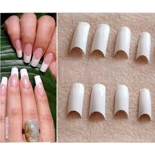 aliexpress com buy 500pcs false nails french nail tips smile