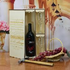 wine box wedding ceremony personalized wedding ceremony wine box with 2 custom glasses