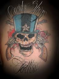 gun n roses tattoo design photos pictures and sketches