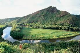 Hawaii rivers images One day tour to kauai from oahu waimea canyon wailua river jpg