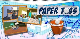 paper toss 2 0 apk paper toss 2015 apk 1 2 paper toss 2015 apk apk4fun