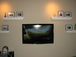 Tv Wall Mount With Built In Shelf Tv On Wall Wall Mount Tv W Builtin Shelves How To Mount Your Tv