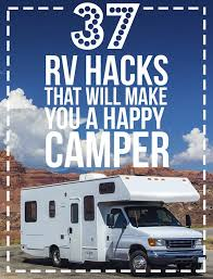 Best Way To Clean Rv Awning 37 Rv Hacks That Will Make You A Happy Camper