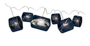 star wars string lights blue amazon co uk lighting