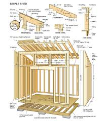 diy shed plans free smart woodworking projects