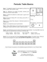 chemistry periodic table worksheet answer key chapter 4 elements and the periodic table crossword puzzle answer