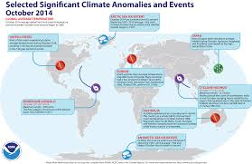 World Map With Hemispheres by Global Climate Report October 2014 State Of The Climate