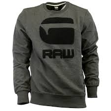 g resap sleeve athletic sweat shirt sweater mens ebay