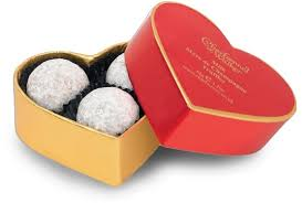 heart chocolate box charbonnel et walker heart chagne truffles chocolate
