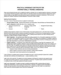 Ndt Resume Sample by Experience Certificate Template 7 Free Pdf Download Document