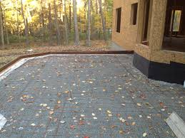 Pea Gravel Concrete Patio by Gravel Patio This Raised Concrete Patio Has Raised Gravel Patio