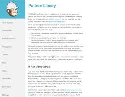 Pattern Library Mailchimp   blog bene