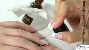 tammy taylor how to color acrylic nail fill in with repairs