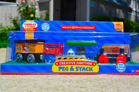 thomas and friends 2014 creative junction peg u0026 stack wooden
