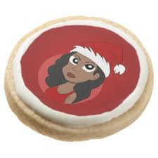 cartoon christmas cookies zazzle