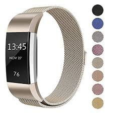 bracelet magnetic wristband images Fitbit charge 2 milanese bands metal black swees replacement jpg