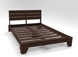 reclaimed bedframe u2014 think outside designs