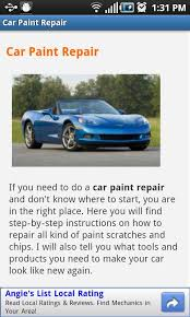 car paint repair android apps on google play