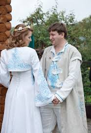 wedding wishes russian russian wedding in the they are happy dress