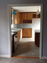 gray kitchen floors with oak cabinets new kitchen pendant lights sheet vinal floor kraftmaid