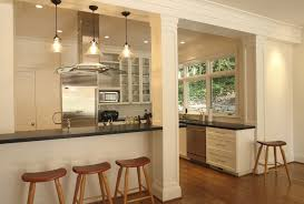 Ceiling Light Crown Molding by Contemporary Column Design Kitchen Contemporary With White Kitchen