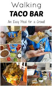 thanksgiving for a crowd walking taco bar great for a crowd u0026 no clean up page 2 of 2