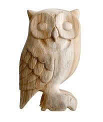 carved wooden owl carved owl and wood carving