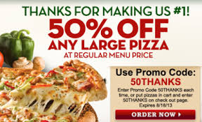Round Table Pizza Coupon Codes Papa John U0027s Get 50 Off A Large Pizza W Online Promo Code
