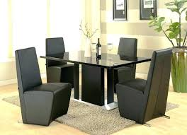 glass top dining table set 4 chairs kitchen chairs set of 4 kitchen furniture affordable dining sets