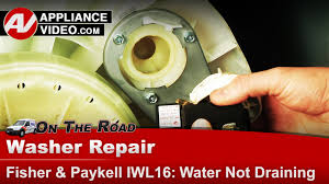 fisher u0026 paykel washer u2013 water not draining u2013 drain pump youtube