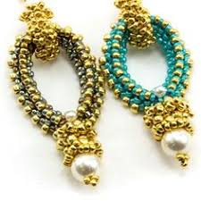 threadabead witches leg earring beads beads beads pinterest