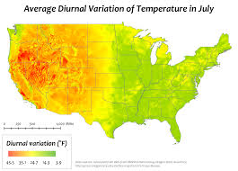 National Temperature Map Diurnal Temperature Variation Wikipedia
