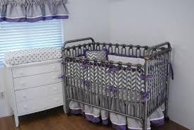 Gray And White Chevron Crib Bedding Gray Chevron Crib Bedding Theme Syrup Denver Decor Special