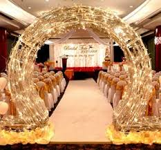 wedding arch lights entrance focal concepts wedding planner event planner in