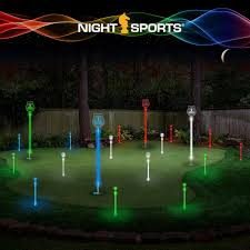 backyard putting green lighting moonlight miniature golf putting green led golf assortment pro