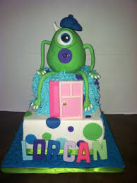 Monster Inc Decorations Monsters Inc Baby Shower Cake Cakecentral Com