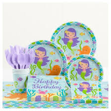 birthday party supplies mermaid friends birthday party supplies kit target