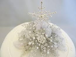 snowflake cake topper snowflake cake decoration snowflake cake topper winter wedding