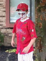 Toddler Baseball Halloween Costume Dead Baseball Player Costume Costume Works Halloween Costume