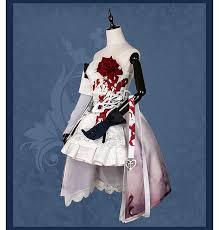 Cheap Gothic Snow White Costume Aliexpress Stock 2017 Game Sinoalice Figure Holy Monk Snow White Uniform