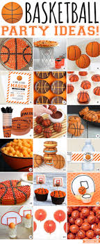 basketball party ideas slam dunk basketball party ideas chickabug