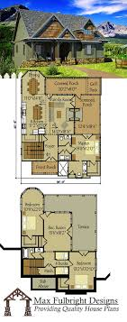 small house floor plans cottage small cottage plan with walkout basement rustic cottage cottage
