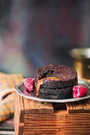 2 minutes microwave eggless molten lava cake recipe molten