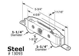 Patio Door Rollers Replacement Sliding Door Tandem Rollers Patio Door Rollers